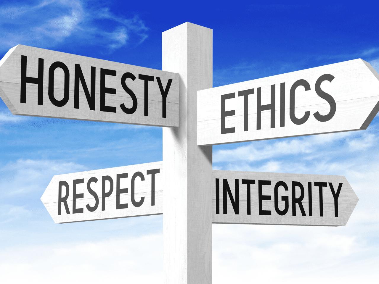 insurance honesty ethics respect